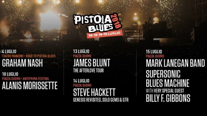Pistoia Blues Festival in Tuscany