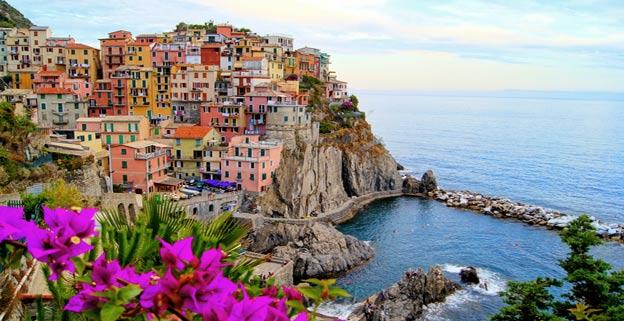 De 5 byer i italien