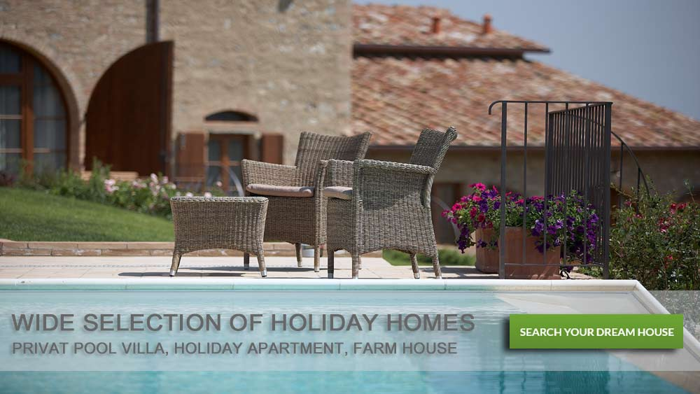 Holiday homes, villa, apartment rent Italy