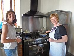 Middag i privat italienskt hem